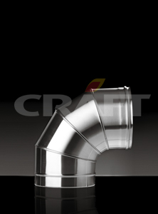 фото Отвод 90гр. Ф200 (AISI_304/0,5) Craft