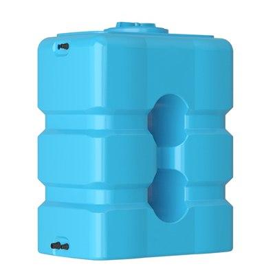 бак для воды atp 500 синий с поплавком